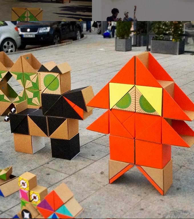 Cardboard Patio Toys