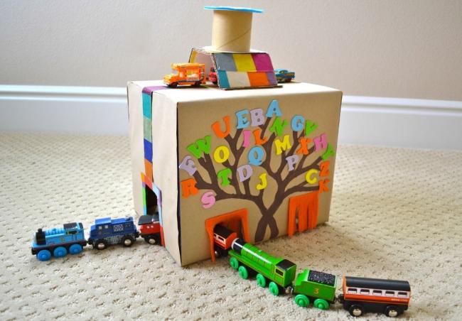 Cardboard Train Projects