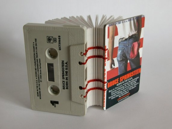 Cassette Tape Upcycled