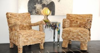 Cork Upcycled Chairs