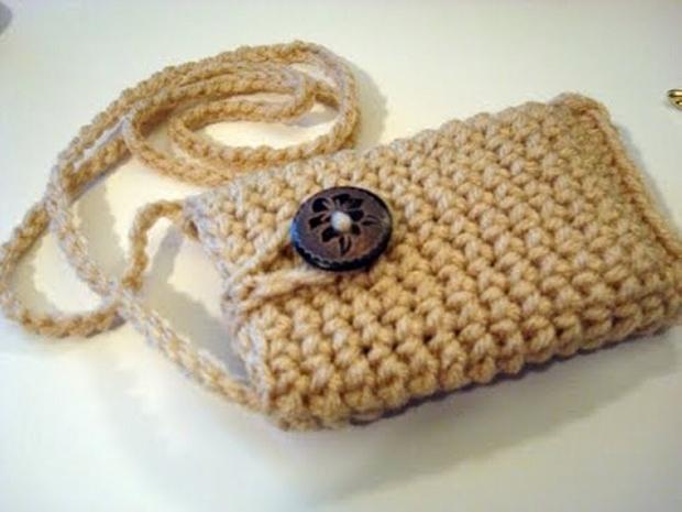 Crochet Cell Mobile Cover