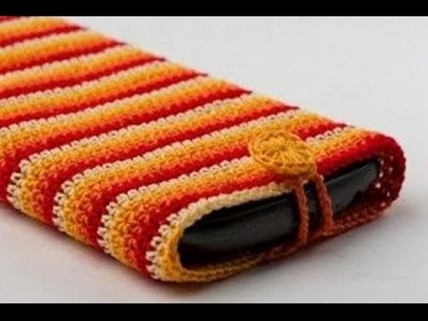 Crochet Mobile Cover Pattern