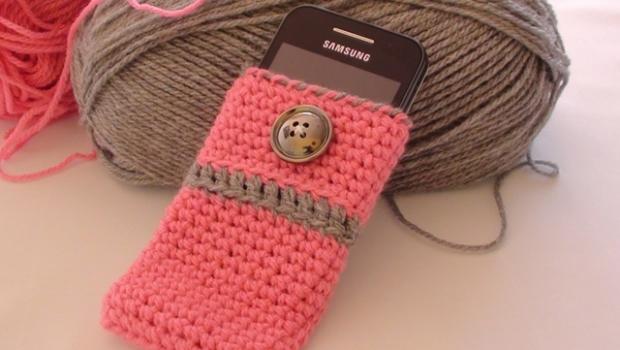 Crochet Mobile Cover Plans