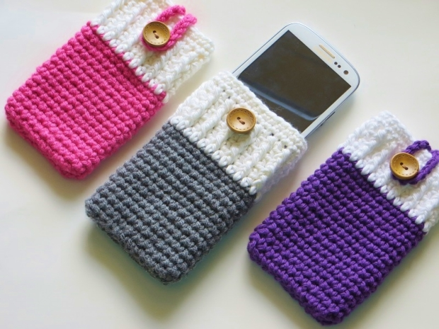 Crochet Mobile Cover Projects