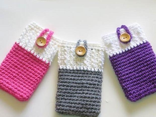 Crochet Mobile Cover