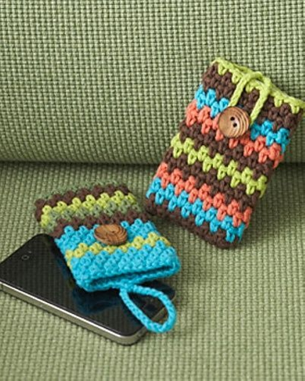 Crochet Mobile Covers