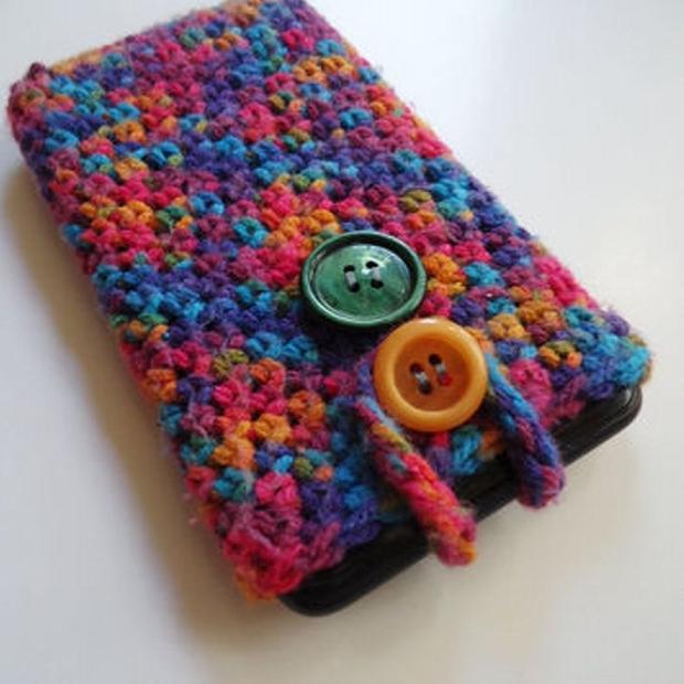 DIY Crochet Mobile Cover