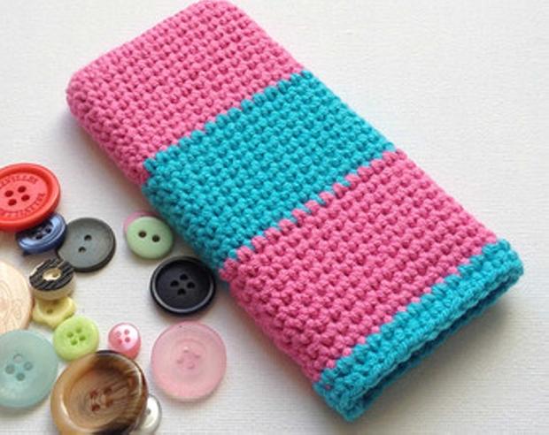 DIY Crochet Phone Cover