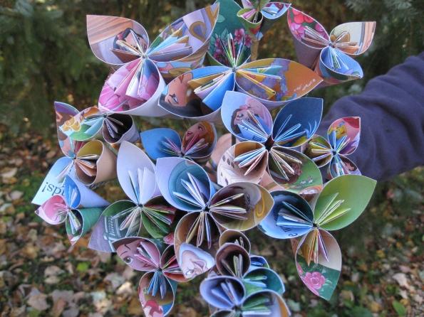 Disney Princess Paper Flowers
