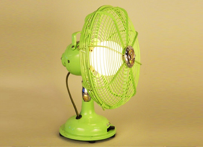 Fan Lamp Idea