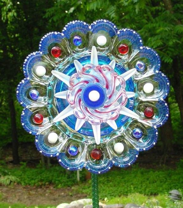 Garden Glass Flowers