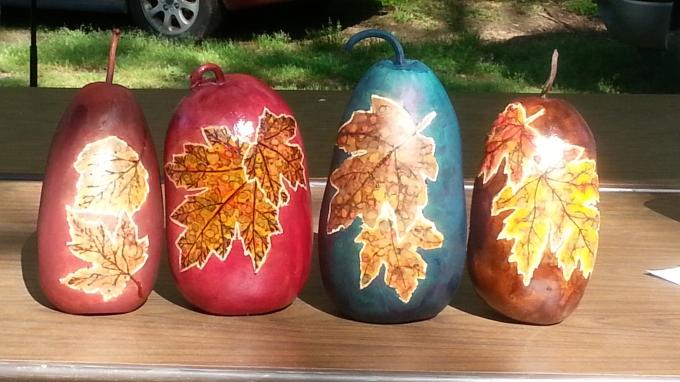 Gourd Art Class
