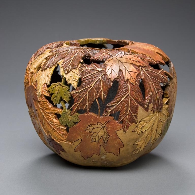 Gourd Art Ideas Upcycle Art