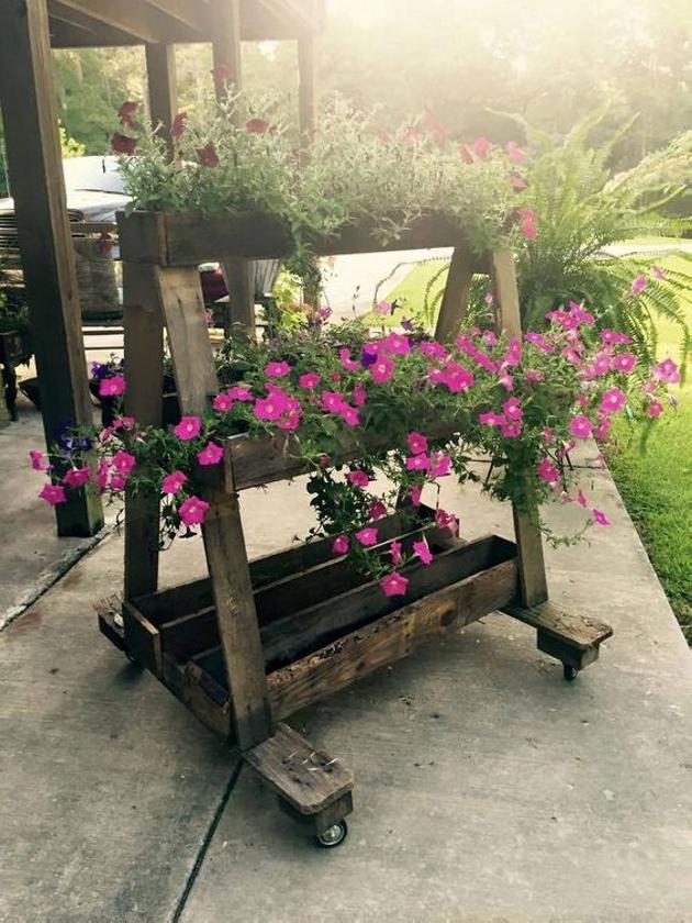 Inspiring Pallet Planter