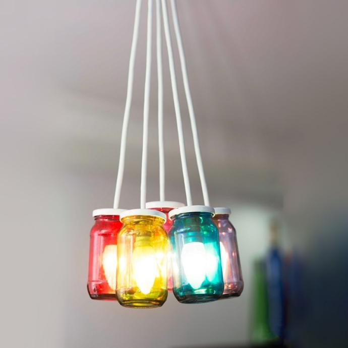 Jam Jar Lamps