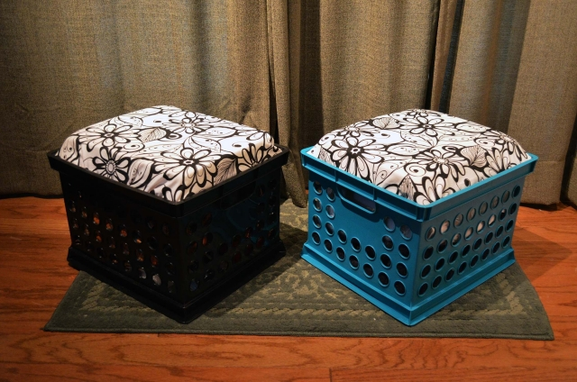 Recycled Crate Stools