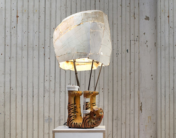 Recycled Garbage Lamps