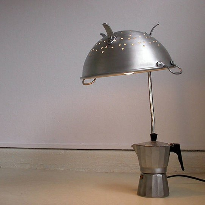 Recycled Material Lamps