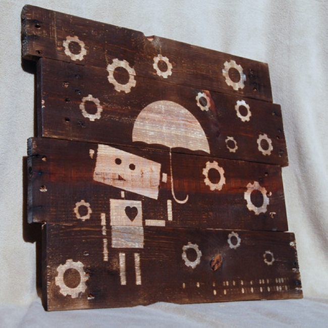 Recycled Pallet Art