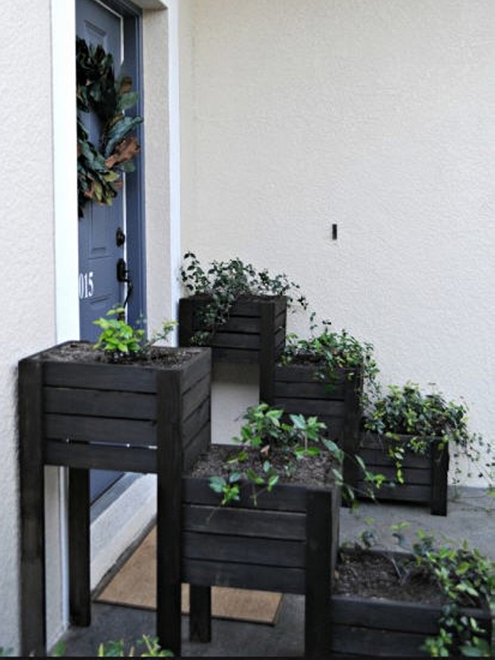 Recycled Wooden Pallet Planters