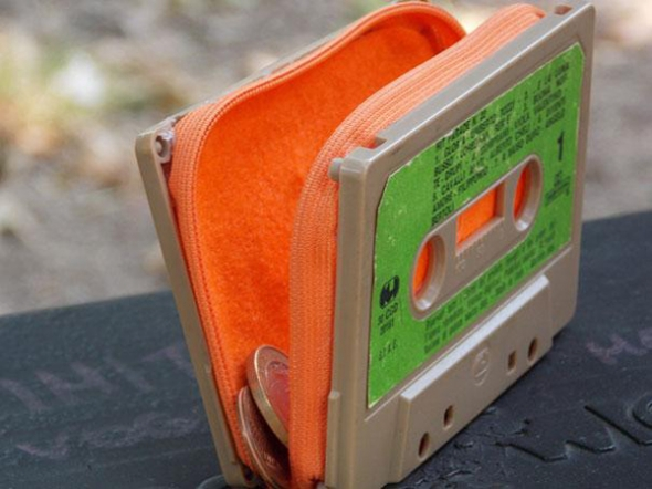 Repurposed Cassette Tape Crafts