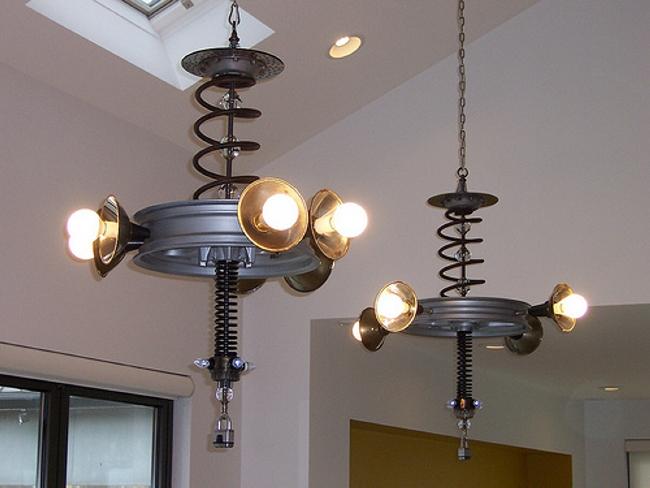 Repurposed Lighting Fixtures