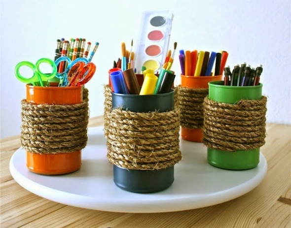 recycling ideas for cans upcycle art On tin cans for crafts