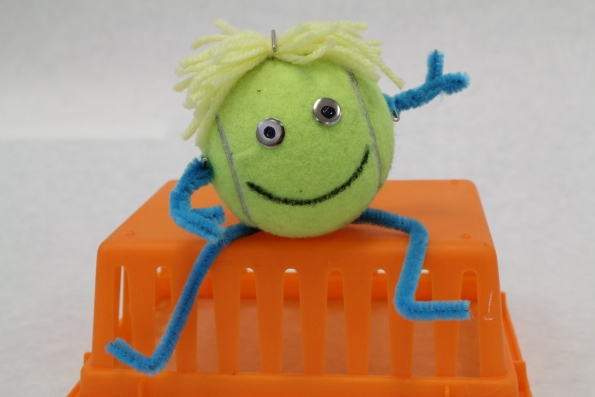 Tennis Ball Crafts