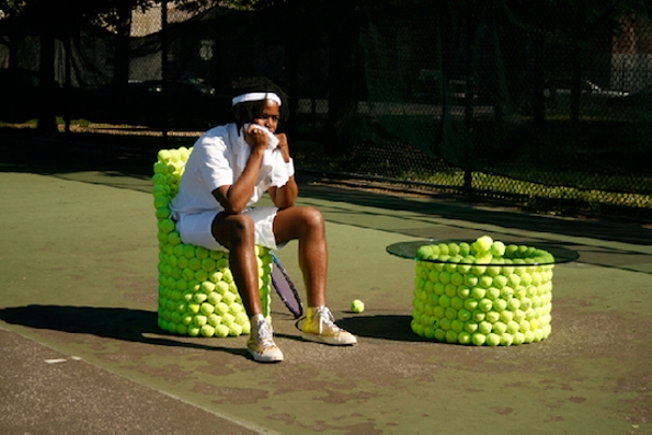 Tennis Ball Furniture