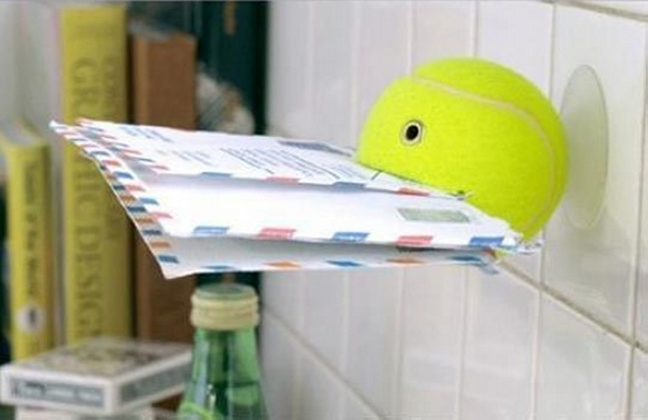 Tennis Ball Recycled Holder