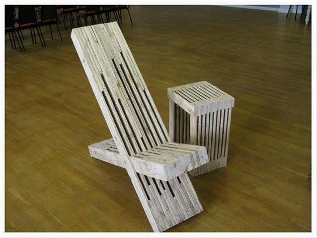 Unique Pallet Chair