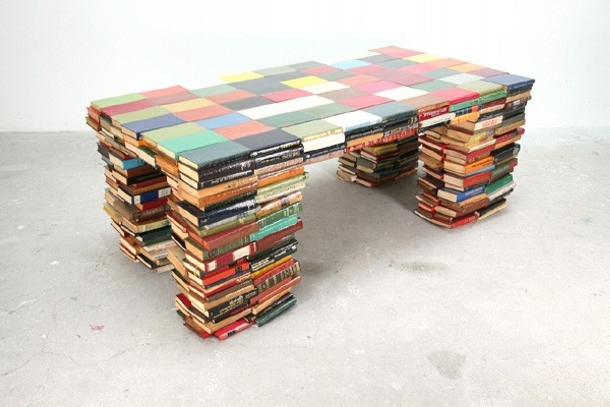 Upcycled Book Table Plans