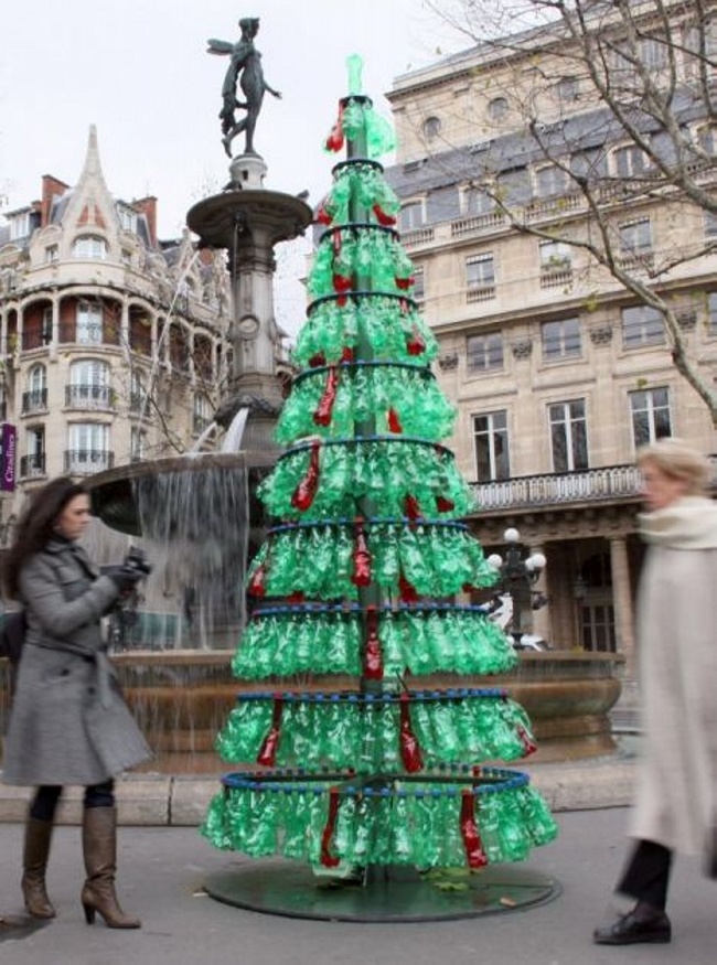 Upcycled Bottles Tree
