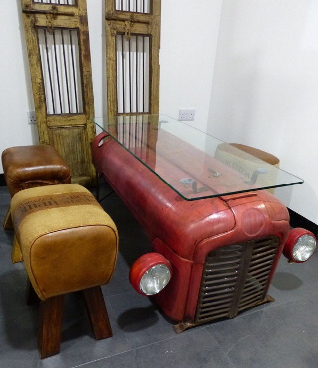 Upcycled Furinture from Tractor