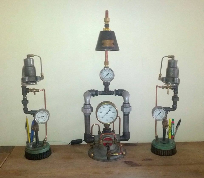 Upcycled Lamp Designs