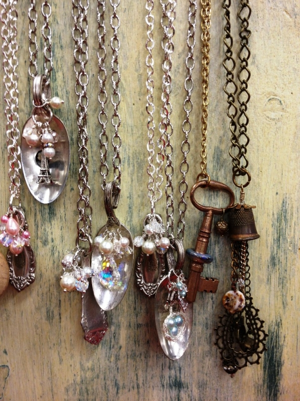 Upcycled Spoons Art