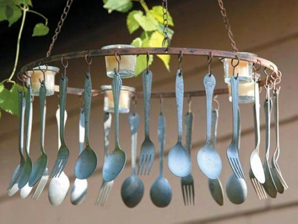 Upcycled Spoons Chimes