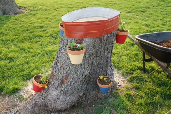 Upcycled Tree Ideas