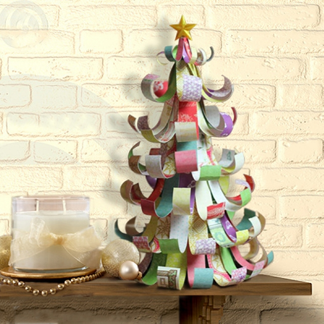 Upcycled Tree Paper Craft