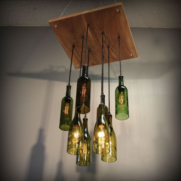Wine Glass Chandelier Lights