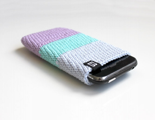 Free Crochet Pattern For I Phone Case : Crochet Mobile Cover Patterns Upcycle Art