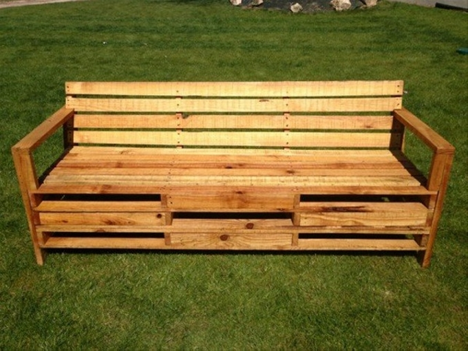 Pallet Bench Ideas Part - 40: Pallet Bench Ideas