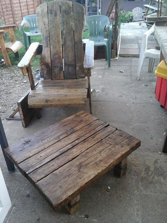 pallet patio furniture ideas
