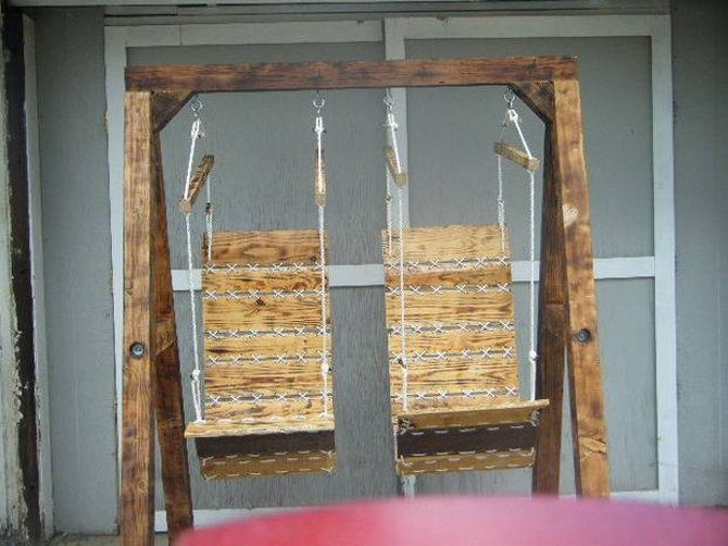 pallet swing for kids