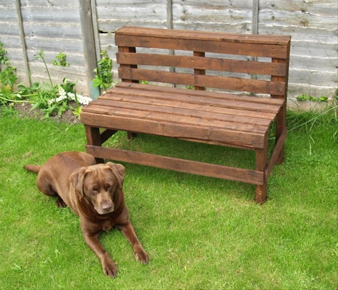 Recycle Pallet: Recycled Wood Pallet Benches