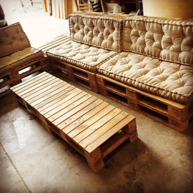 Wood Pallet Recycled Furniture Ideas Upcycle Art