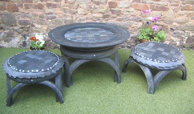 Used Tires Recycling Ideas Upcycle Art