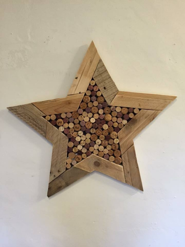 wooden pallet upcycled