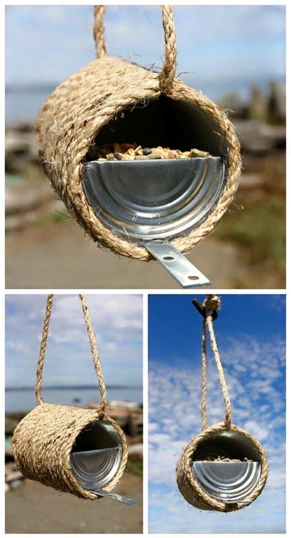 Sisal Rope Birds Feeder