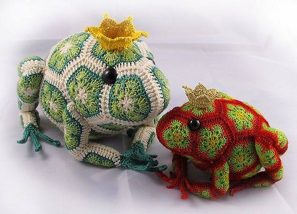 crochet art work